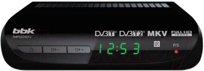 Тюнер цифрового телевидения BBK SMP022HDT2 (черный)