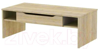 Журнальный столик 3Dom Фореста РС35М (дуб бардолино серый)