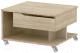 Журнальный столик 3Dom Фореста РС36М (дуб бардолино серый) -