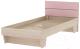 Односпальная кровать 3Dom Слимпи СП003 (акация молдавская/орхидея) -