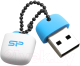 Usb flash накопитель Silicon Power Jewel J07 Blue 32GB (SP032GBUF3J07V1B) -
