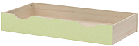 Ящик под кровать 3Dom Слимпи СП511 (акация молдавская/зеленый лайм) -