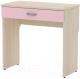 Туалетный столик 3Dom Слимпи СП360 (акация молдавск/фламинго розовый) -
