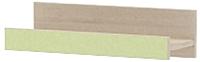 Полка 3Dom Слимпи СП151 (акация молдавская/зеленый лайм) -