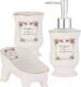 Набор аксессуаров для ванной Axentia 122125 -