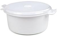 Кастрюля для СВЧ Berossi Экспресс ИК 08601000 (снежно-белый) -