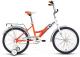 Велосипед Forward Altair City Boy 20 2017 (13, белый/оранжевый) -