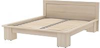 Двуспальная кровать 3Dom Слим-Практик СП001/1 (акация молдавская) -