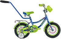 Детский велосипед с ручкой Forward Funky Boy 2016 (12, синий) -