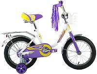 Детский велосипед Forward Racing Girl 2017 / RBKW7LNF1005 (14, белый) -