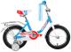 Детский велосипед Forward Racing Girl 2017 (14, синий) -