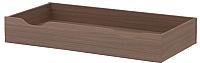 Ящик под кровать 3Dom Слим-Практик СП511 (орех грецкий) -