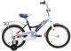 Детский велосипед Forward Altair City Boy 2017 / RBKT75NG1003 (16, белый/синий) -