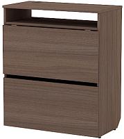 Письменный стол 3Dom Слим-Практик СП320 (орех грецкий) -