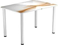 Обеденный стол Васанти Плюс ПРФ 110x70 (белый/113) -