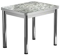 Обеденный стол Васанти Плюс ПРФ 80x60/120 РШ/ОА (хром/117) -