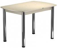 Обеденный стол Васанти Плюс БРП 100x60/3/О (бежевый хром/бежевый) -
