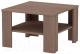 Журнальный столик 3Dom Слим-Практик СП37М (орех грецкий) -