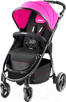 Детская прогулочная коляска Recaro Citylife (розовый)