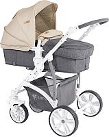 Детская универсальная коляска Lorelli Vista Grey&Beige Cities 10020971747 -