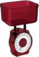 Кухонные весы Lumme LU-1301 (красный гранат) -
