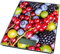 Кухонные весы Lumme LU-1340 (ягодный микс) -