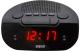 Радиочасы Mystery MCR-21 (черный/красный) -