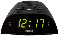 Радиочасы Mystery MCR-48 (черный/зеленый) -