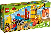 Конструктор Lego Duplo Большая стройплощадка 10813 -