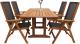 Комплект садовой мебели Sundays Compliment 89425/88814 (4 стула) -