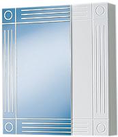 Шкаф с зеркалом для ванной Акваль Оливия 60 (EO.04.60.00.N) -