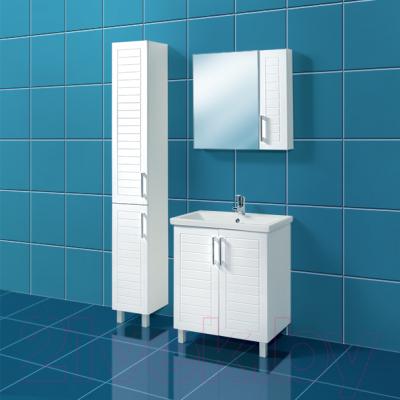 Шкаф для ванной Акваль Анна 30 (АННА.03.00.00.L)