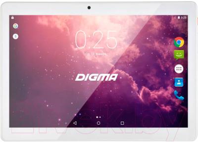 Планшет Digma Plane 1601 8GB 3G / PS1060MG (белый)