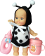 Кукла-младенец Daxiang Пупс с аксессуарами 212-023-Vk -