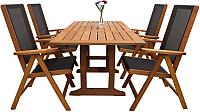 Комплект садовой мебели Sundays Solid 89396/88814 (4 стула) -