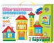 Развивающая игрушка Десятое королевство Магнитная мозаика: Веселый городок (01511) -