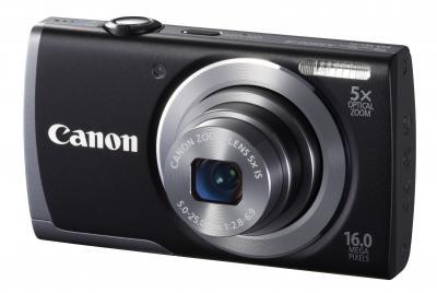 Компактный фотоаппарат Canon PowerShot A2600 Black - общий вид