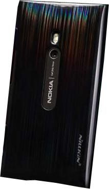 Задняя крышка для Nokia Lumia 800 Nillkin Dynamic Color Ink Black - общий вид