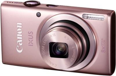 Компактный фотоаппарат Canon DIGITAL IXUS 135 (розовый) - общий вид