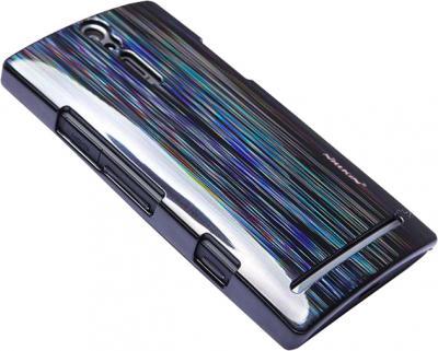 Задняя крышка для Sony LT26I Xperia S Nillkin Dynamic Color Ink Black - общий вид