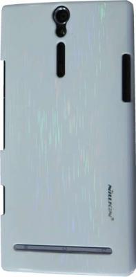 Задняя крышка для Sony LT26I Xperia S Nillkin Dynamic Color White - общий вид