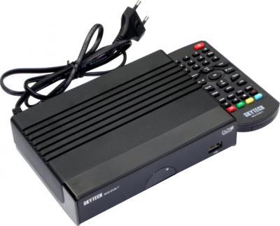 Тюнер цифрового телевидения Skytech 94G DVB-T - общий вид с пультом ДУ