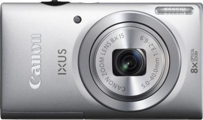Компактный фотоаппарат Canon DIGITAL IXUS 140 Silver - вид спереди