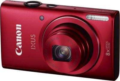 Компактный фотоаппарат Canon DIGITAL IXUS 140 (красный) - общий вид