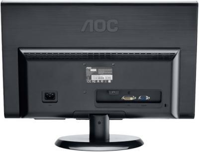 Монитор AOC E2050SDAK - вид сзади