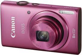 Компактный фотоаппарат Canon DIGITAL IXUS 140 (розовый) - общий вид