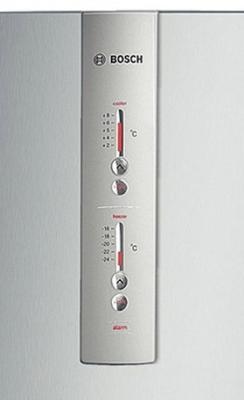 Холодильник с морозильником Bosch KGN36VP10R - индикация температуры