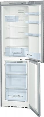 Холодильник с морозильником Bosch KGN39VL11R - в раскрытом состоянии