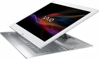 Ноутбук Sony Vaio SVD1321M2RW - вид при трансформации