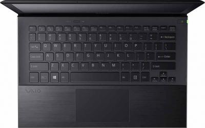 Ноутбук Sony Vaio SVP1321L1RBI - вид сверху